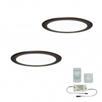 2er-Set LED-Einbaustrahler MOONLIGHT EMOTION