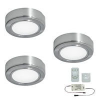 3er-Set LED-Aufbaustrahler CHIP 58 EMOTION