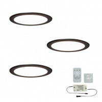 3er-Set LED-Einbaustrahler MOONLIGHT EMOTION
