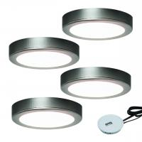 4er-Set LED-Aufbauleuchte MOONLIGHT EMOTION