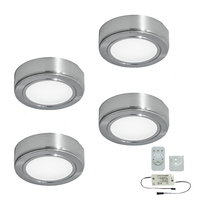 4er-Set LED-Aufbaustrahler CHIP 58 EMOTION