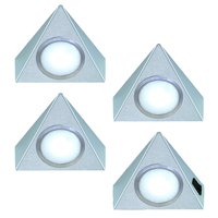 4er-Set LED Dreieckleuchte TRIANGOLO