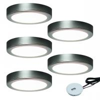 5er-Set LED-Aufbauleuchte MOONLIGHT EMOTION