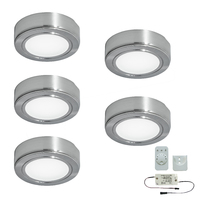 5er-Set LED-Aufbaustrahler CHIP 58 EMOTION