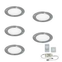 5er-Set LED-Einbaustrahler CHIP 58 EMOTION